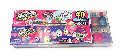 Shopkins Mega Pack Bundle of 2, Season 7 Party & 8 World Vac