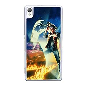Sony Xperia Z3 Cell Phone Case White Back To The Future Time Film Poster YT3RN2558979