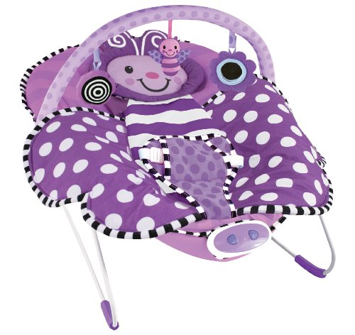 Sassy Cuddle Bug Bouncer, Violet Butterfly by Hamacher (Image #2)