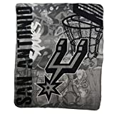 "The Northwest Company NBA Lightweight Fleece Blanket (50"" x 60"") (San Antonio Spurs)"