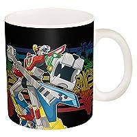 Zak Designs Super Hero Voltron Ceramic Coffee Cup 11 oz