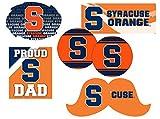 Syracuse Orange Proud Dad 6 Piece Decal Set
