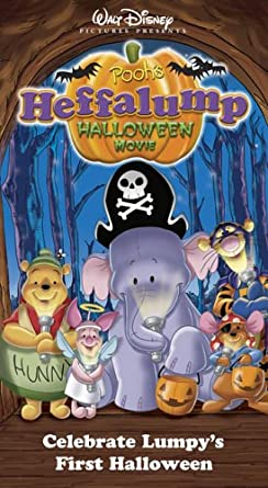 Amazon.com: Pooh's Heffalump Halloween Movie [VHS]: Jimmy Bennett ...
