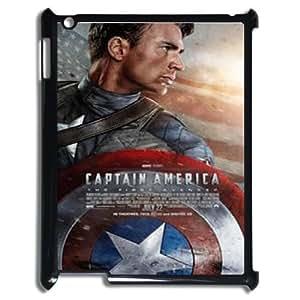Captain America Shield (2D) Silicone Case for Ipad 2,3,4 Case Cover ATR072761
