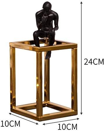 XWYDX Adornos artesanales Escalera casera Creativa Moderna Simple en los Ornamentos de los pensadores Ornamentos (Color : 4#): Amazon.es: Hogar