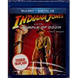 Indiana Jones et le Temple maudit - Indiana Jones and the Temple of Doom (English/French) 1984 (Widescreen) Cover Bilingue