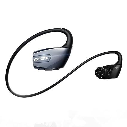 [ Versión Nuevo] Mpow Auriculares Bluetooth 4.1 Auriculares Inalámbrico Deportes, Incorporado Micrófono Apoyo Llamadas