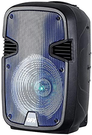 """QFX 12/"""" Rechargeable Bluetooth Party Speaker"""