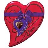 DOVE Valentine's Dark Chocolate Truffles Heart Tin 6.5-Ounce Tin