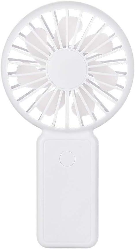 Smdoxi Portable Handheld Mini Fan Outdoor Travel Portable Desktop Fan with USB Charging Home Silent Fan Office