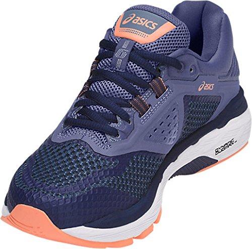 ASICS Women's GT-2000 6 Running Shoe, Indigo Blue/Indigo Blue/Smoke Blue, 5 M US by ASICS (Image #3)