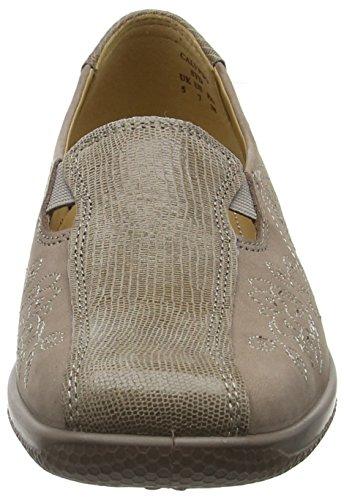 Hotter Women's Calypso Closed-Toe Heels Brown (Truffle Multi) BwM4oAqgo