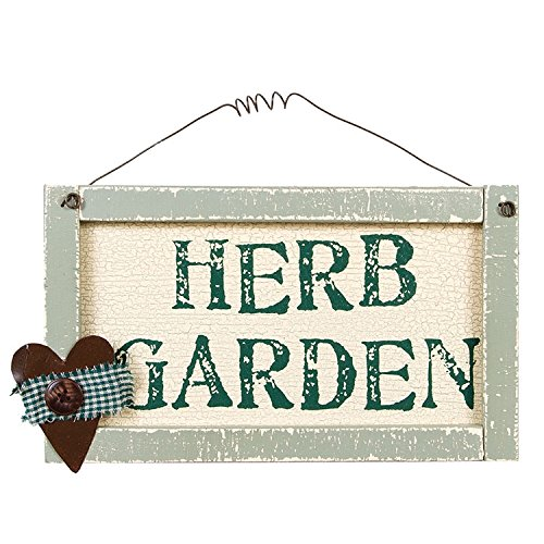 Herb Garden Sign by Heart of America