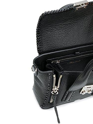 Leather Lim Women's AP170226WSKBA001 Phillip Handbag Black 3 1 qEfYwft