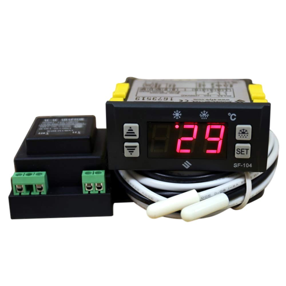 Pleasing Amazon Com Sf 104 Digital Display Thermostat Temperature Controller Wiring Cloud Hisonuggs Outletorg