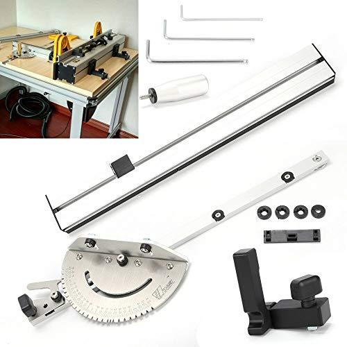 Calibrador de ingletes para sierra de mesa Enrutador Sierra de mesa 3/8″3/4″