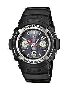 Casio G-Shock – Reloj Hombre Analógico/Digital con Correa de Resina – AWG-M100-1AER