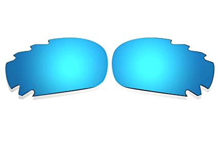 d8bcfa9b3b Image Unavailable. Image not available for. Color  Polarized Ice Blue  Vented Replacement Lenses for Oakley Racing Jacket ...