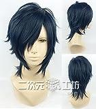 耐熱コスプレウィッグ 燭台切光忠 刀剣乱舞ONLINE(とうらぶ)かつら cos wig  sunshine onlineが販売+おまけ