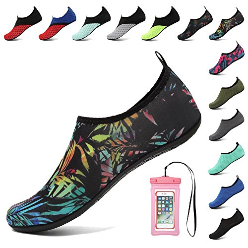 Colorful Socks Dry for Aqua for Coolloog Water Swim 2 Beach Women Quick Surf Shoes Barefoot Yoga Men qYZwIS