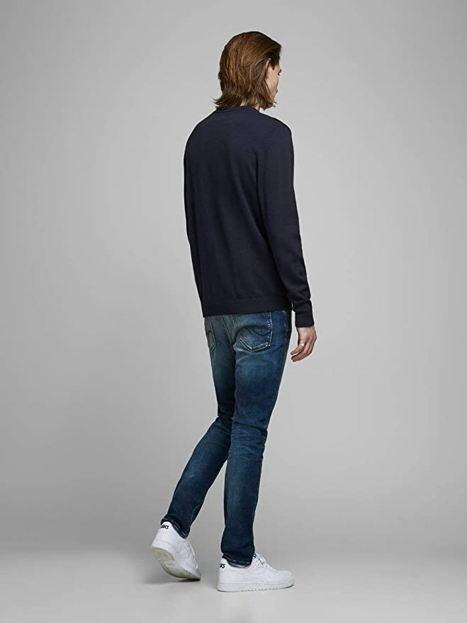 Jack /& Jones Jjvcunion Knit Crew Neck Noos su/éter para Hombre