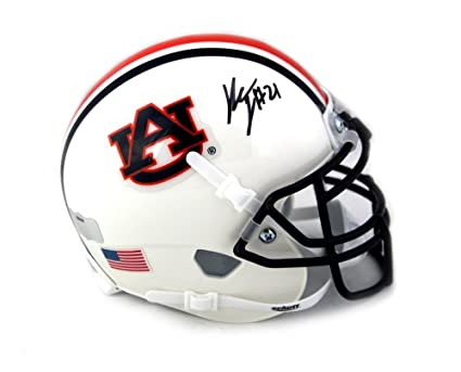 0506cf2c7f5 Image Unavailable. Image not available for. Color  Kerryon Johnson Signed Auburn  Tigers NCAA Schutt Mini Helmet - Autographed College ...