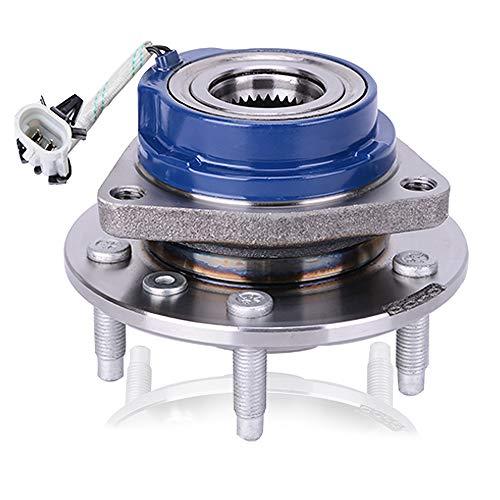 513121 Front/Rear Wheel Hub and Bearing Assembly, LEDKINGDOMUS Wheel Hub Bearing Compatible for Allure, Aurora, Bonnevile, Century, Impala 5 Lug W/ABS