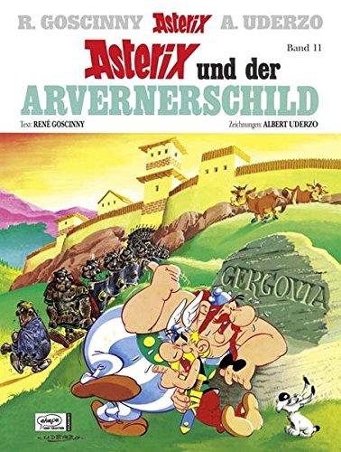 Goscinny und Uderzo präsentieren den Grossen Asterix-Band 11 : Asterix und der Arvernerschild Sondereinband – 1. Januar 2011 René Goscinny Albert Uderzo Gudrun Penndorf Ehapa