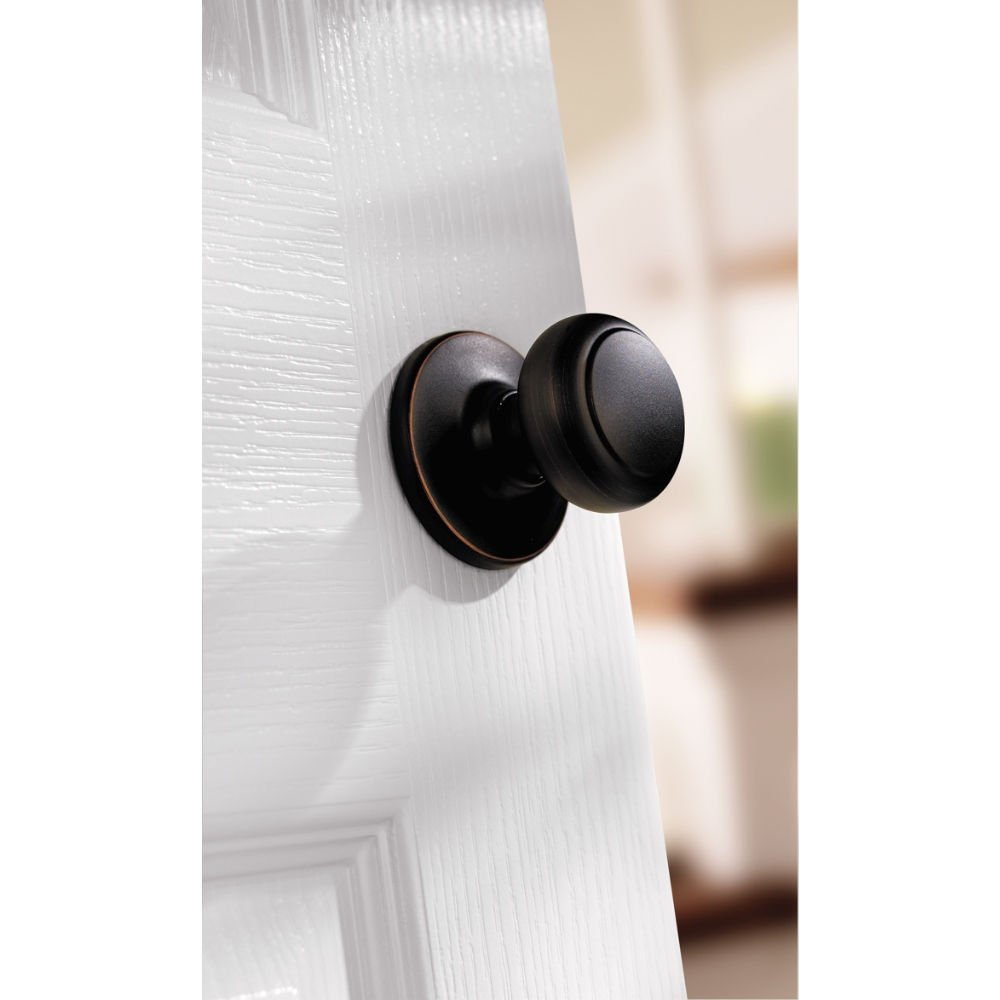 Kwikset Cove Hall/Closet Knob In Venetian Bronze   Kwikset Door Knobs    Amazon.com