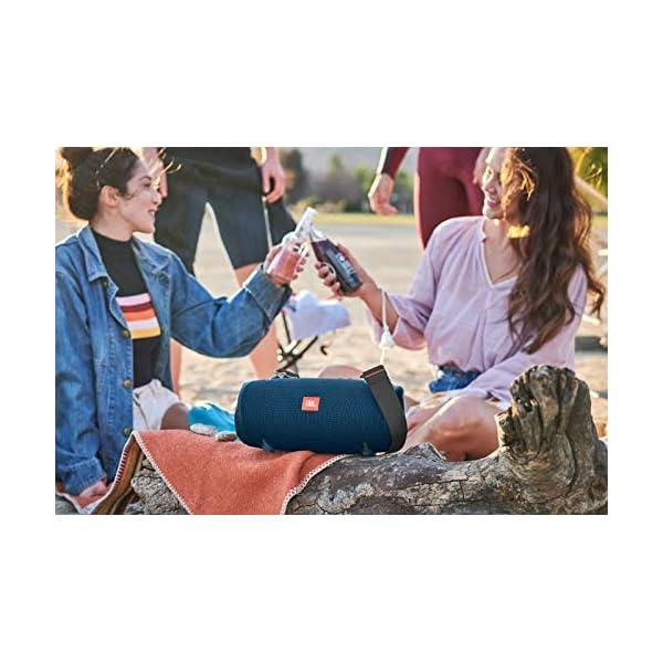 JBL Xtreme 2 - enceinte Bluetooth Portable - Waterproof Ipx7 - Autonomie 15 Hrs & Port Usb - Sangle de Transport Incluse - Bleu 4