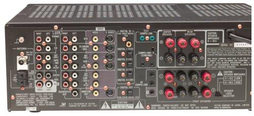 amazon com jvc rx 8000vbk dolby digital dts audio video receiver rh amazon com JVC a V Receiver Thx JVC Home Receivers