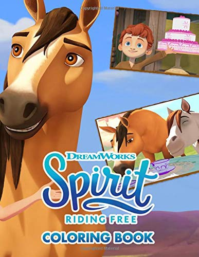 Dreamworks Spirit Riding Free Coloring Book High Quality Coloring Book For Kids And Adults 110 Pages 8 5 X 11 Inches Matthew Zulauf 9798676783495 Amazon Com Books