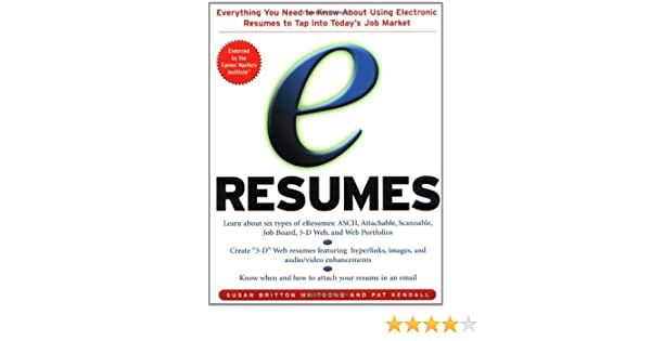 e-Resumes: Everything You Need to Know About Using Electronic ...