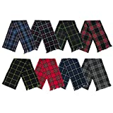 "Tartanista Women's Scottish/Regimental Plaid/Tartan Sashes - 10.5"" x 90"""