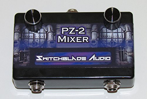 PZ-2 2-Channel Passive Mixer SwitchBlade Audio Hand-Wired