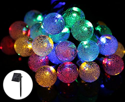 Bubble Solar Garden Lights - 6