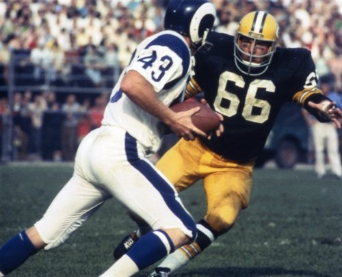 (RAY NITSCHKE GREEN BAY PACKERS 8X10 SPORTS ACTION PHOTO (8))