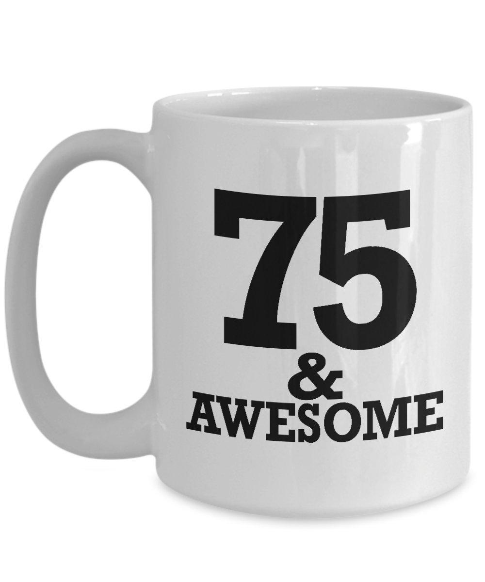 Amazon Gifts For 75 Year Old Man Coffee Mug