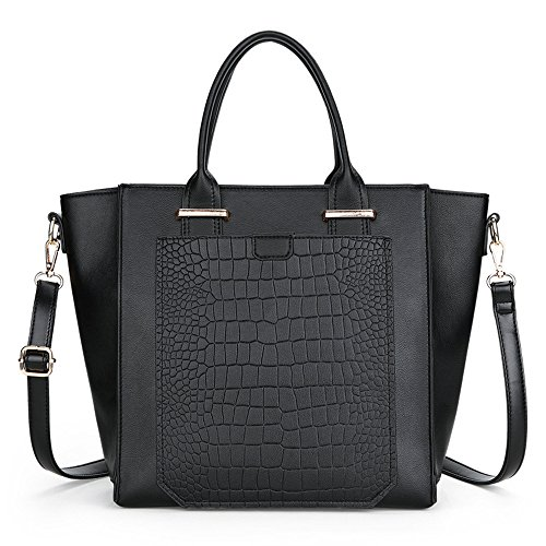 Meaeo Fashion Bag Style Handtasche Khaki black RGeExa8K5