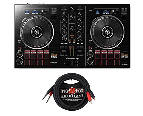 Pioneer DDJ-RB + Dual RCA - 14'' Cable by Pioneer