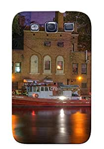 New Premium Storydnrmue Fire Boat On Cuyahoga River Skin Case Cover Design Ellent Fitted For Galaxy S3 For Lovers