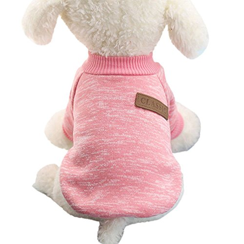 CHN'S Dogs Cats Pet Clothes Hoodie Coat Puppy Apparel Shirt Sport Clothing