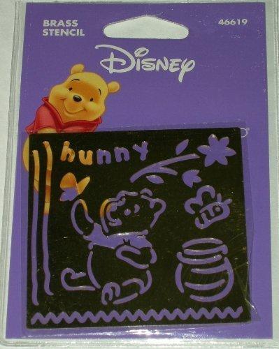 Disney Brass Stencil Pooh (Stencils Disney)