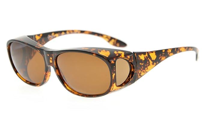 3406bceb52a Eyekepper Retro Style Polarized Fitover Sunglasses for Prescription Glasses   Amazon.co.uk  Clothing