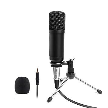 Micrófono Profesional PC De Condensador para VJ DJ Studio ...