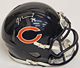 Jordan Howard signed Chicago Bears Riddell speed mini helmet. Item comes with a Schwartz Sports Memorabilia tamper-proof numbered hologram and Certificate of Authenticity which can be verified online.