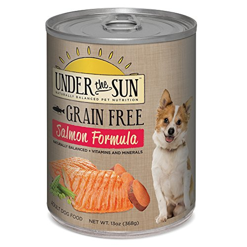 CANIDAE Under The Sun Grain Free Dog Wet Food Salmon Formula, 13 oz (12-pack)