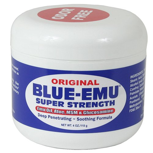 Nfi Consumer Products Blue-Emu Emu Oil, Aloe, Super Strength, 4-once Jar