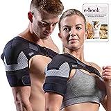 Shoulder Brace - Compression Sleeve for Rotator Cuff...