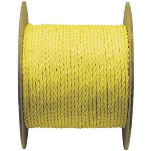 WELLINGTON CORDAGE 14990 1/4-Inch X 1200-Feet Yellow Poly Rope